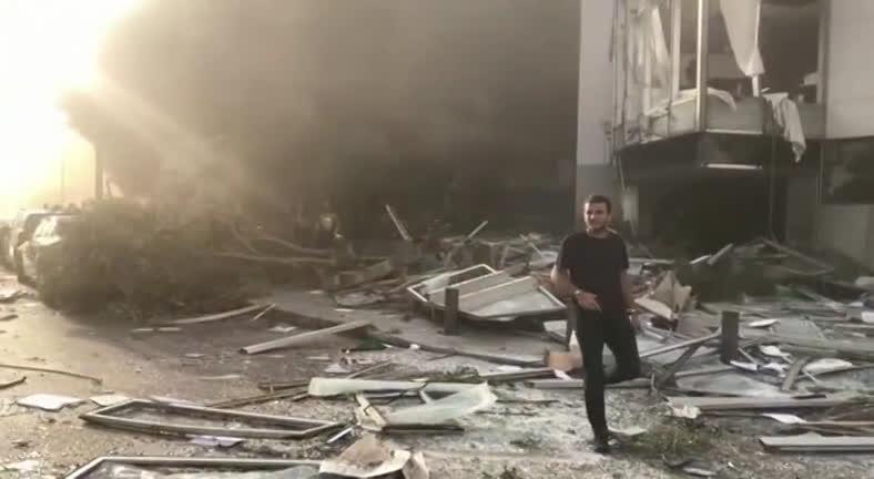 Vídeos mostram como ficou a cidade de Beirute após explosão em ...