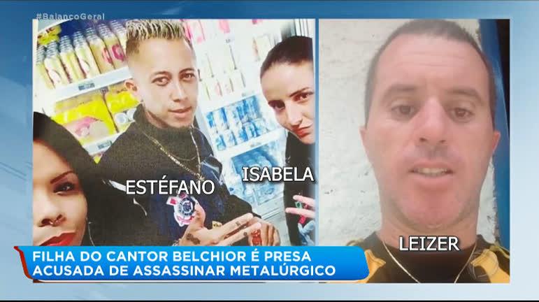 Filha do cantor Belchior é presa acusada de matar metalúrgico - RecordTV -  R7 Balanço Geral
