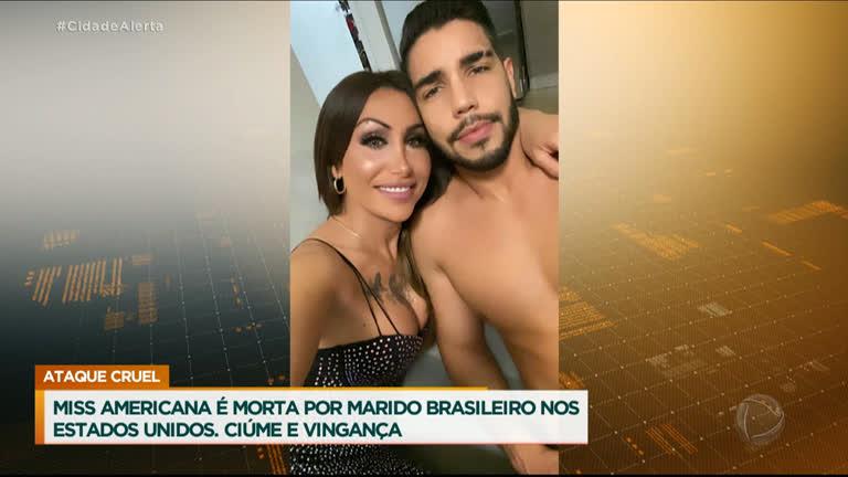 Miss transgênero dos EUA é assassinada pelo marido brasileiro após crise de ciúmes - RecordTV - R7 Cidade Alerta
