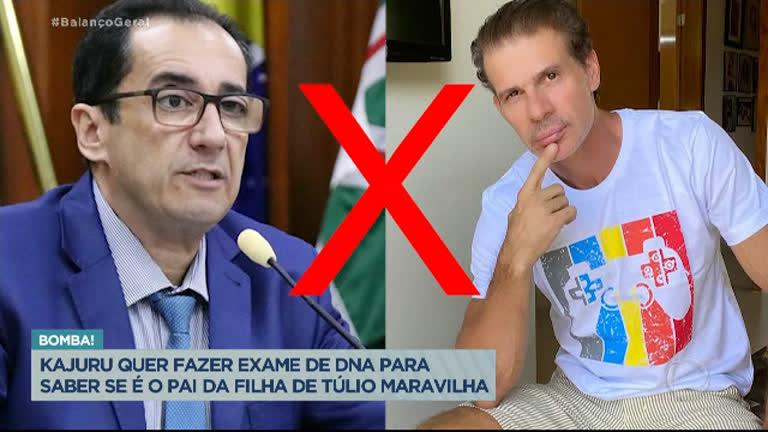 Jornalista Jorge Kajuru afirma ser pai da filha do ex-jogador Túlio  Maravilha - Balanço Geral - R7 Hora da Venenosa