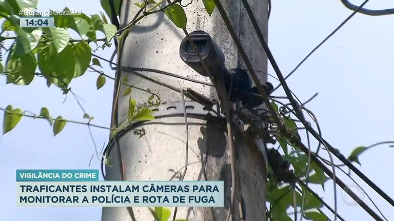 Operação no Galeão encontra câmera do tráfico para monitorar polícia -  RecordTV - R7 Balanço Geral RJ
