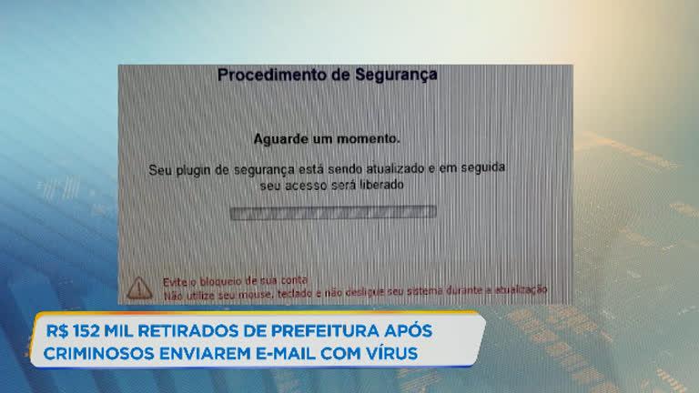 Hackers são suspeitos de desviar R$ 152 mil de prefeitura de Minas