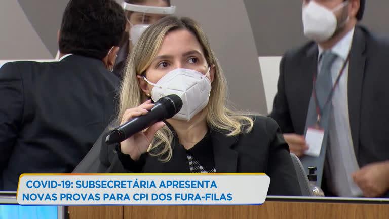 Fura-Filas: subsecretária apresenta provas sobre vacinação irregular