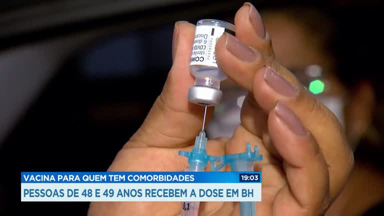 BH segue com vacinação para pessoas com comorbidades