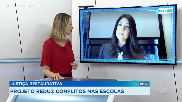 Justiça Restaurativa é aliada na mediação de conflitos em escolas - Record  TV Litoral e Vale - R7 SP Record