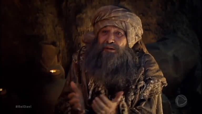 6569ad7892496 Profeta Samuel aparece ao Rei Saul e anuncia que ele perderá a guerra -  RecordTV - R7 Rei Davi