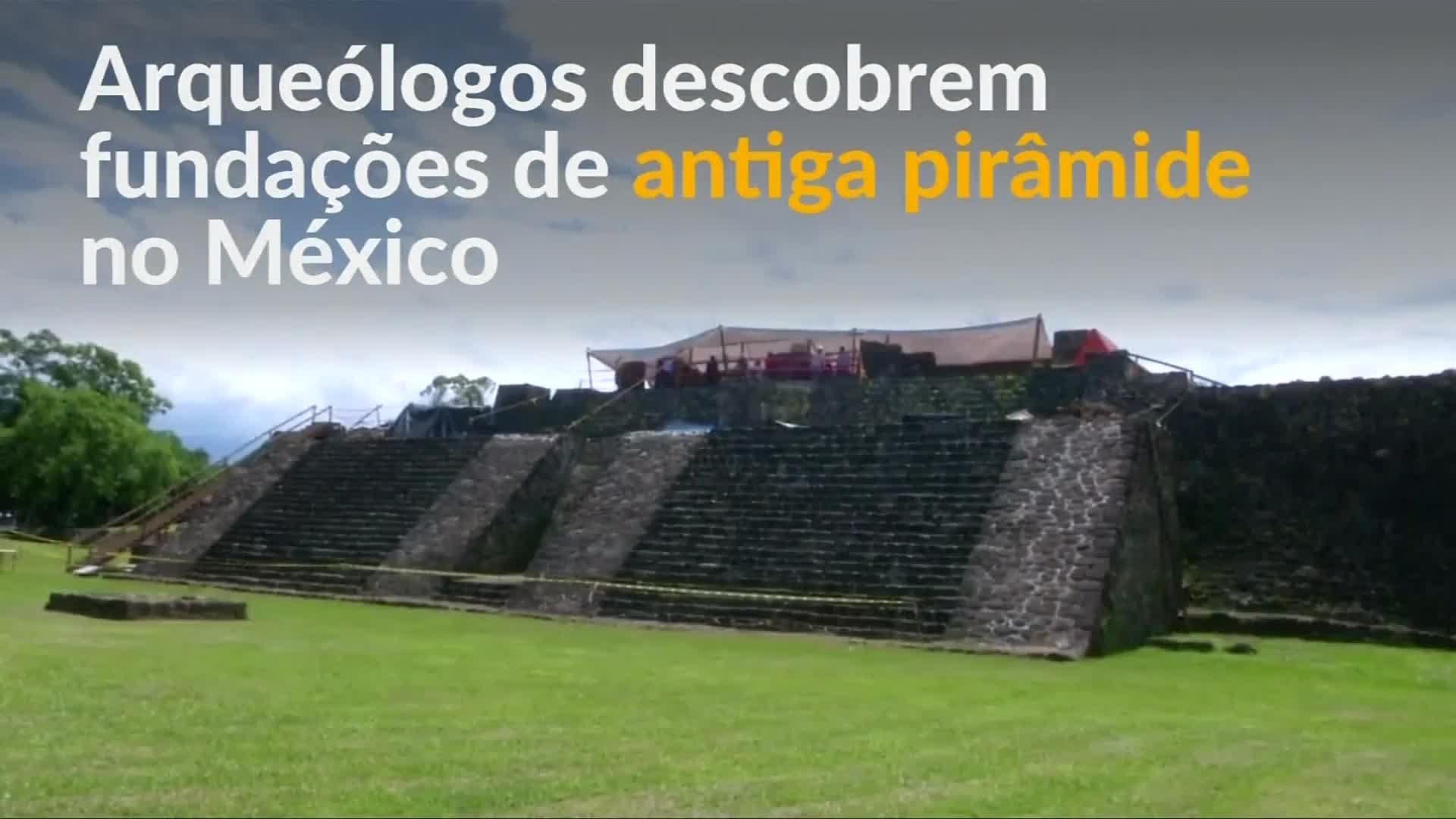 Terremoto no México revela pirâmide desconhecida