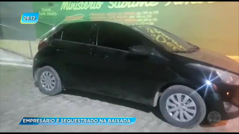 Suspeitos fazem refém, roubam carro e são presos em Nova Iguaçu