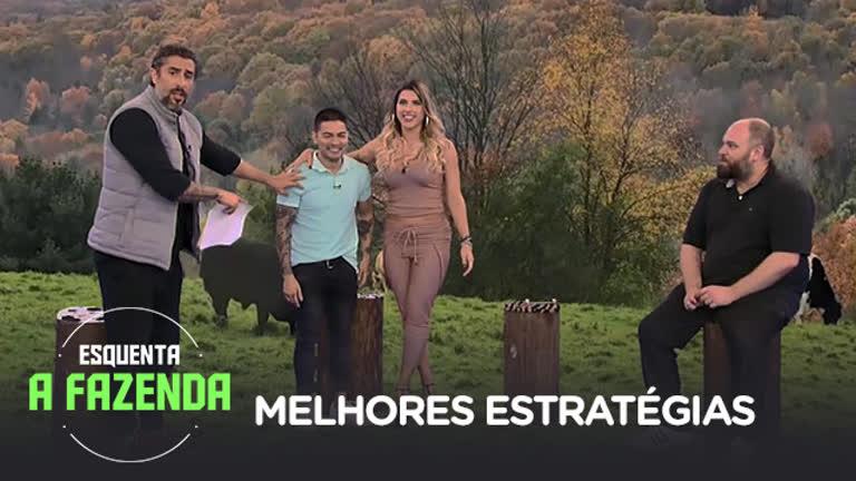 Esquenta A Fazenda | Yudi Tamashiro, Ana Paula Minerato e Chico ...