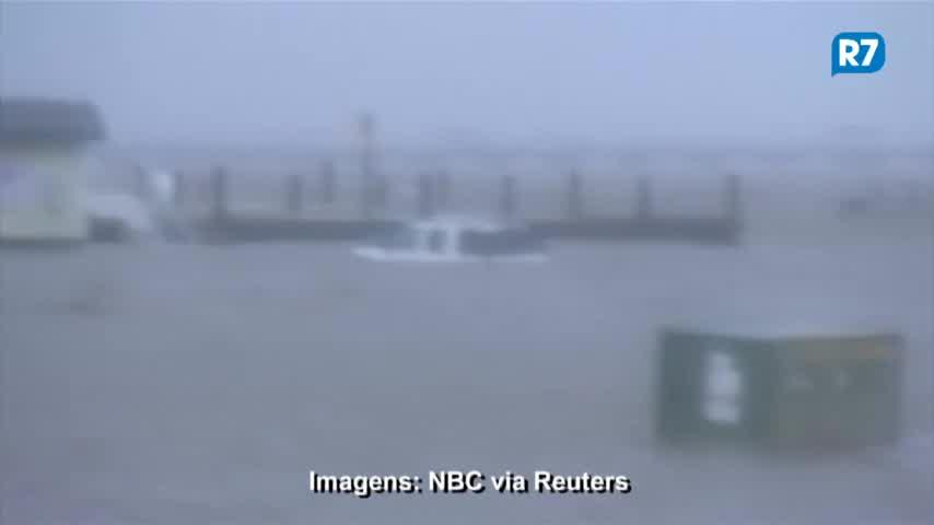 Furacão Florence provoca enchentes e estragos na Carolina do Norte