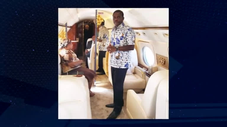 cd170a60caf Filho de ditador africano tem US  16 milhões em dinheiro e bens apreendidos  em SP - RecordTV - R7 Domingo Espetacular