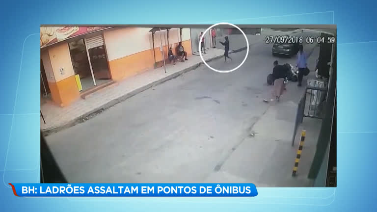be4ba344b Ladrões assaltam em pontos de ônibus