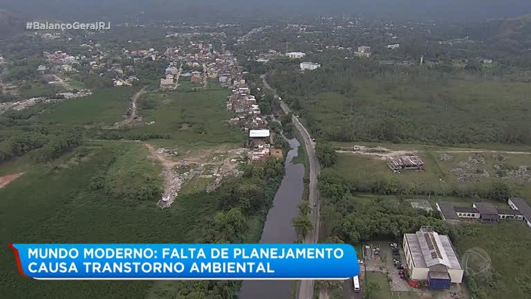 Falta de planejamento causa transtorno ambiental no Rio
