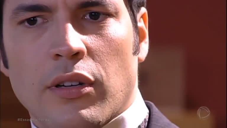 Ferreira decide noticiar o noivado de Fernando no jornal