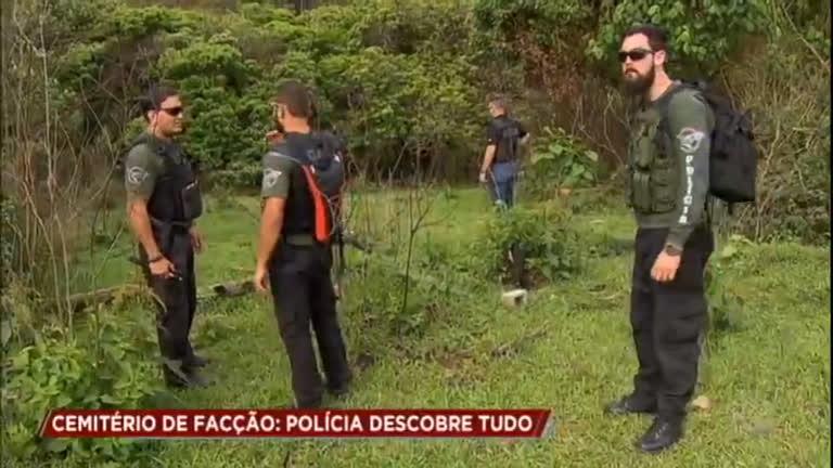 Polícia descobre cemitério clandestino de facção criminosa