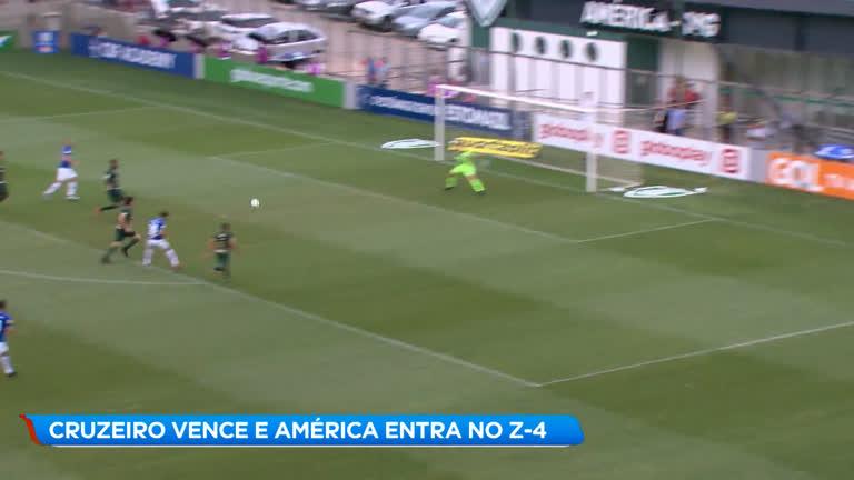dc7cd15aa Esporte  Cruzeiro vence América com golaço de Arrascaeta - Minas Gerais - R7  Balanço Geral MG