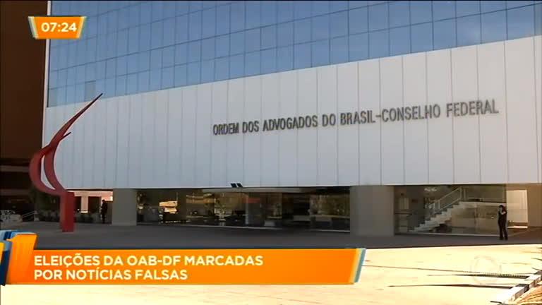 4c0ecffc20cae Eleições da OAB-DF são marcadas por notícias falsas - Distrito Federal - R7  DF no Ar
